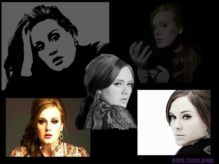 adele home page