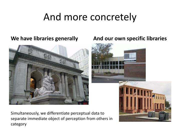 And more concretely