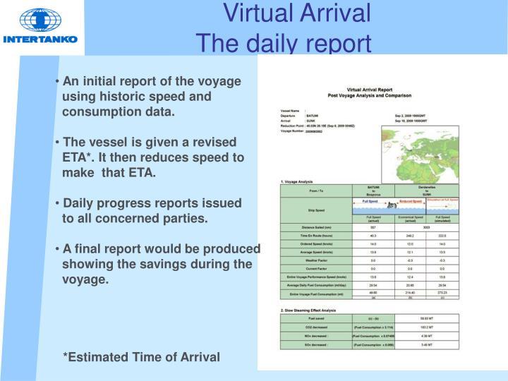 Virtual Arrival