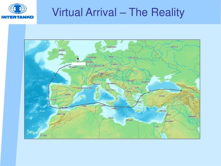 Virtual Arrival – The Reality
