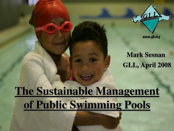 the sustainable management of public swimming pools n.