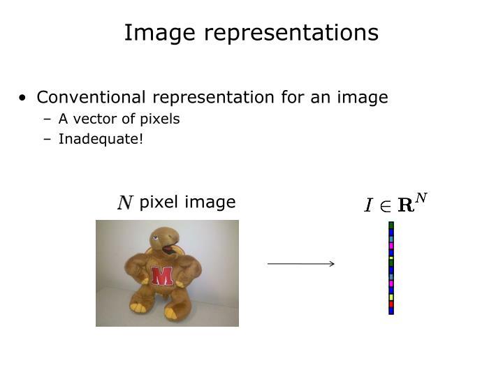 Image representations