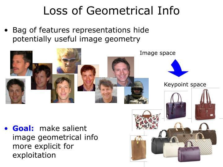 Loss of Geometrical Info