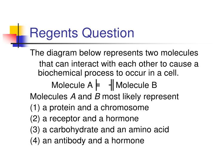 Regents Question
