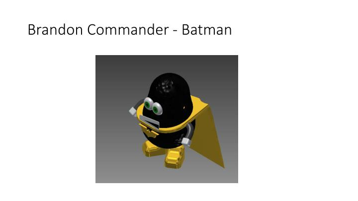 Brandon Commander - Batman
