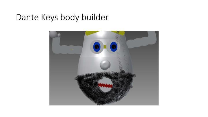 Dante Keys body builder