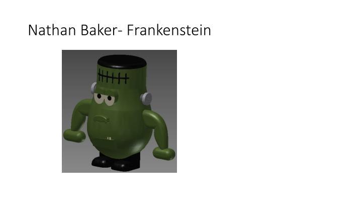 Nathan Baker- Frankenstein