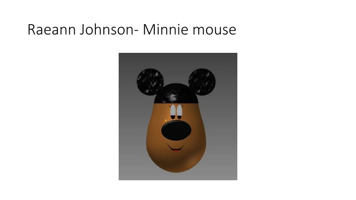 Raeann johnson minnie mouse