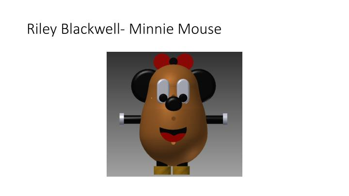Riley Blackwell- Minnie Mouse