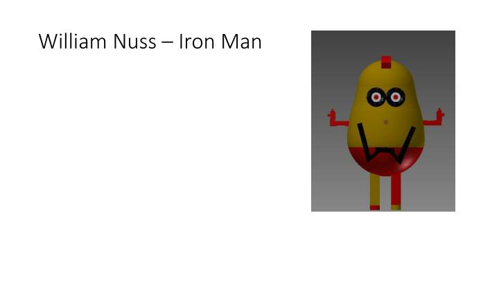 William Nuss – Iron Man