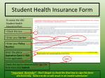 student health insurance form1