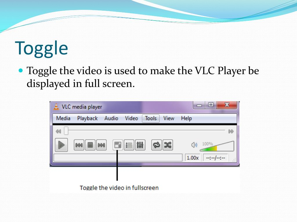 PPT - Features of the VLC Media Player PowerPoint