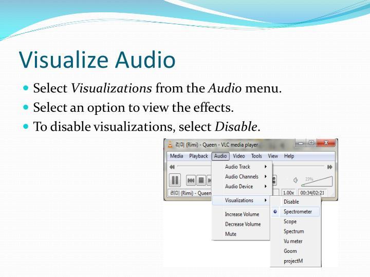 Visualize Audio