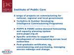 institute of public care
