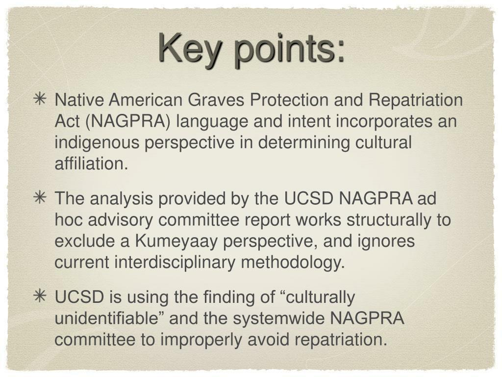 PPT - Key points: PowerPoint Presentation - ID:5339436
