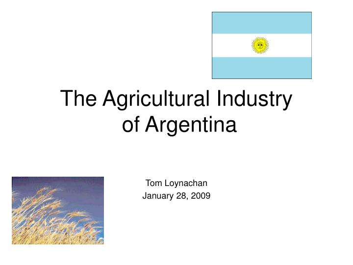 the agricultural industry of argentina n.