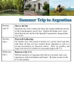 summer trip to argentina1