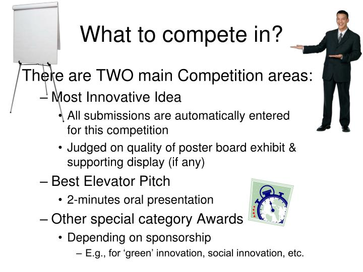 What to compete in?