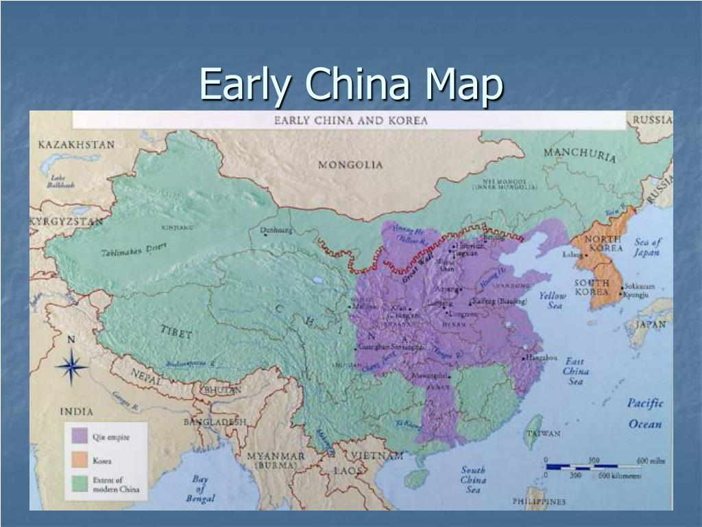 PPT - Early China Map PowerPoint Presentation - ID:5340269
