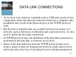 data link connections