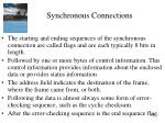 synchronous connections2