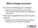 why is change necessary