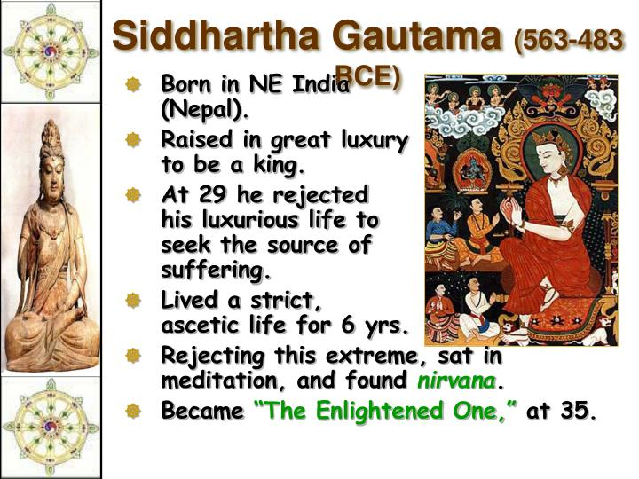 a history of buddhism founded by siddhartha gautama