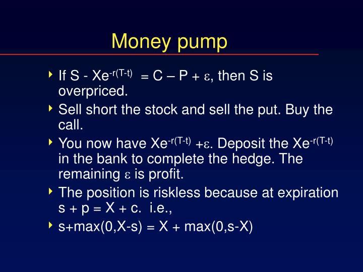 Money pump