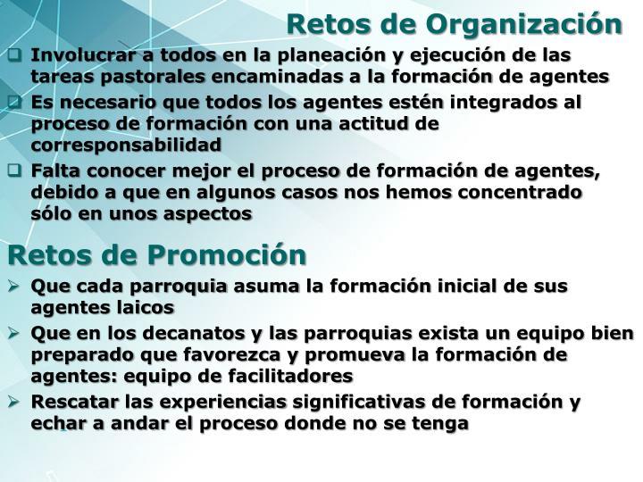 Retos de organizaci n