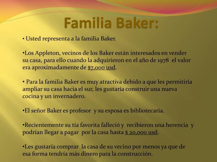 Familia Baker: