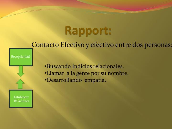 Rapport:
