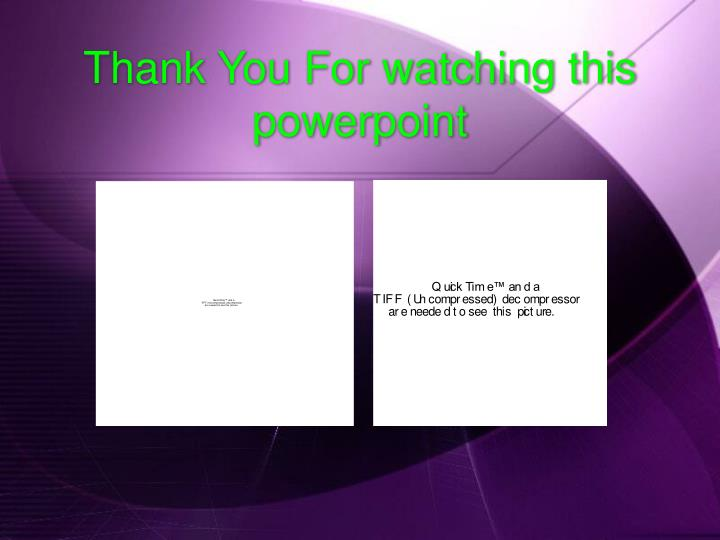 Thank You For watching this powerpoint