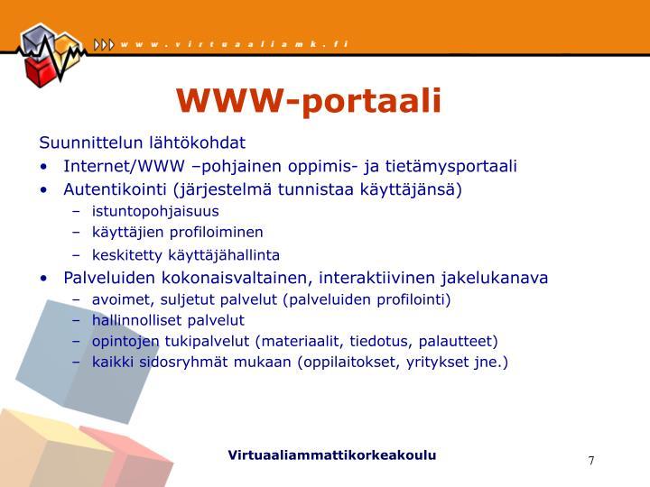 WWW-portaali