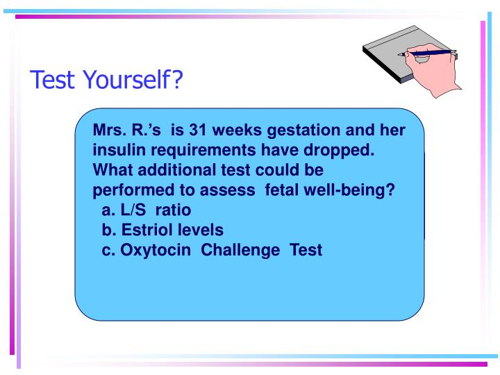 Test Yourself?