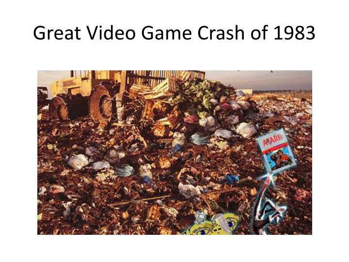 Great video game crash of 1983