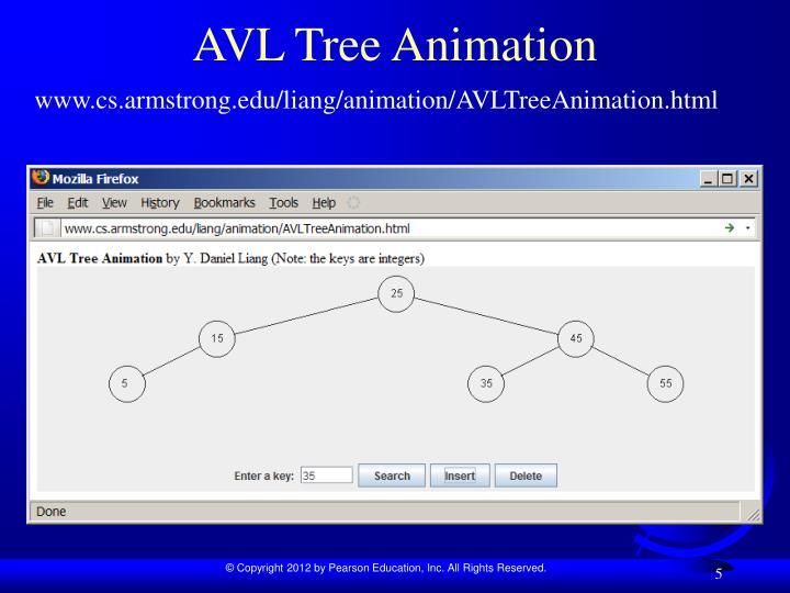 AVL Tree Animation