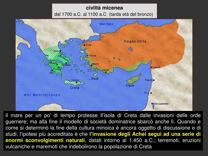 civiltà micenea
