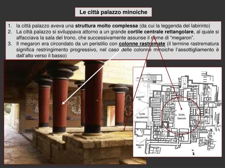 Le città palazzo minoiche