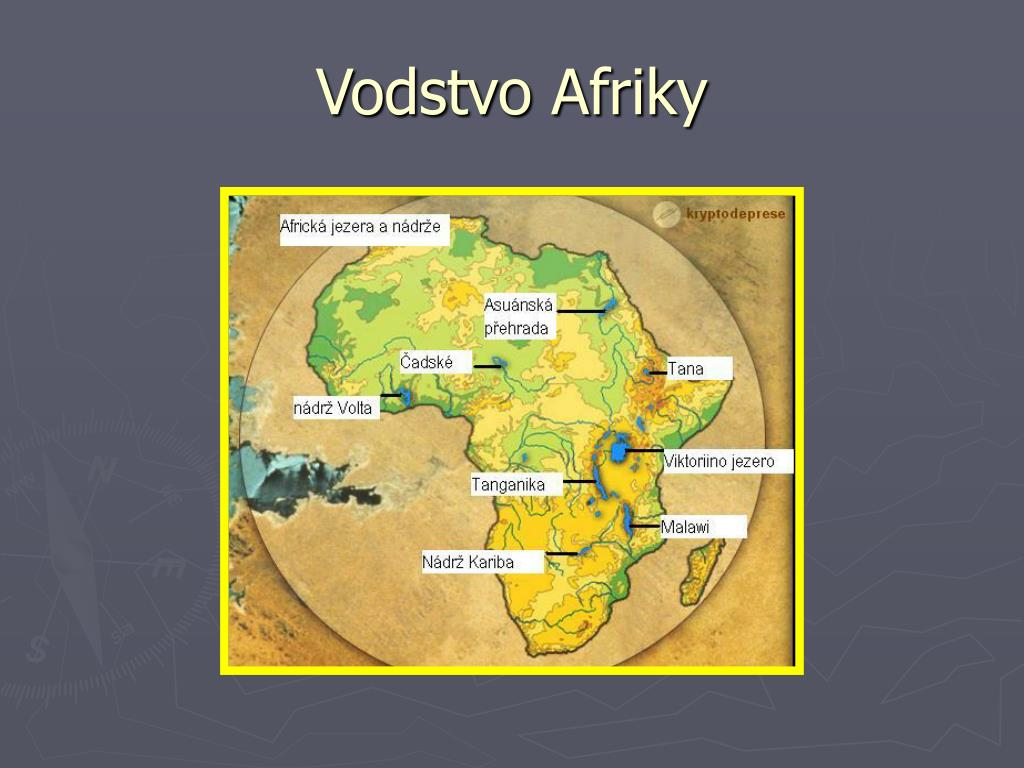 Ppt Vodstvo Afriky Powerpoint Presentation Free Download Id