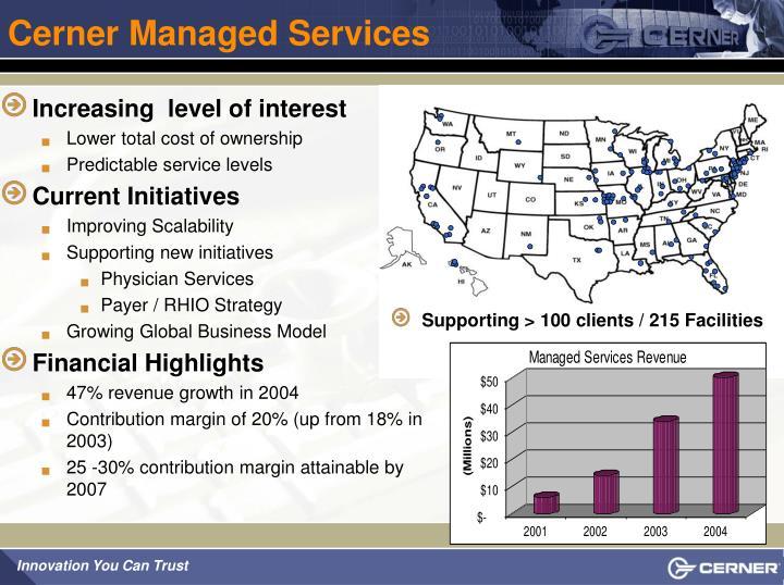 Cerner Managed Services