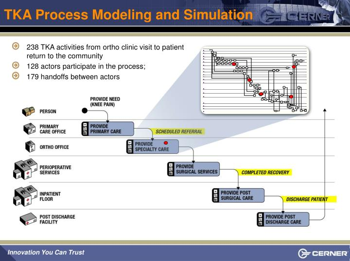 TKA Process Modeling and Simulation