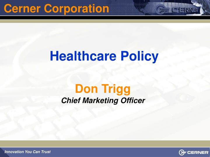 Cerner Corporation