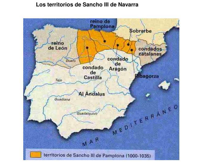 Los territorios de Sancho III de Navarra