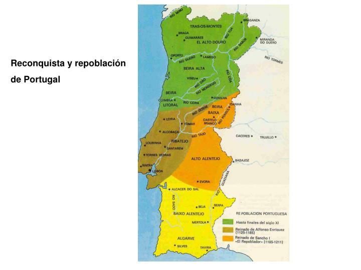 Reconquista y repoblación