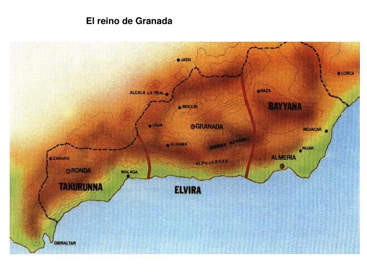 El reino de Granada