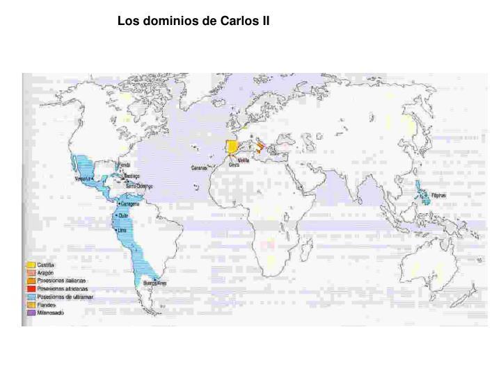 Los dominios de Carlos II