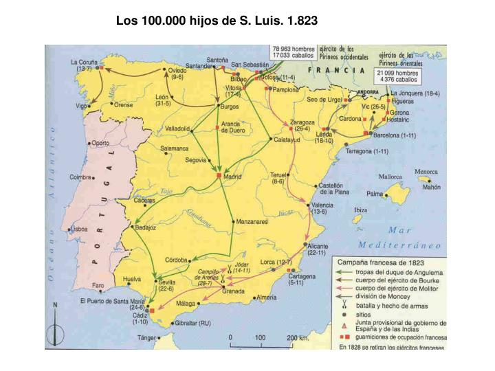 Los 100.000 hijos de S. Luis. 1.823