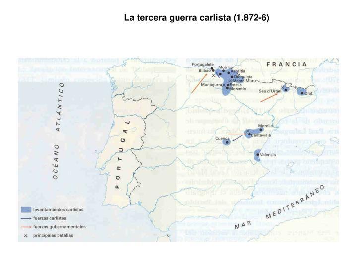 La tercera guerra carlista (1.872-6)