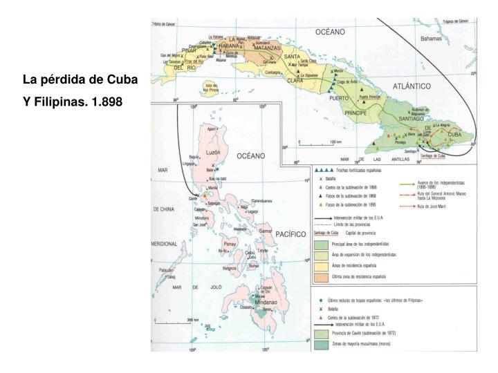 La pérdida de Cuba