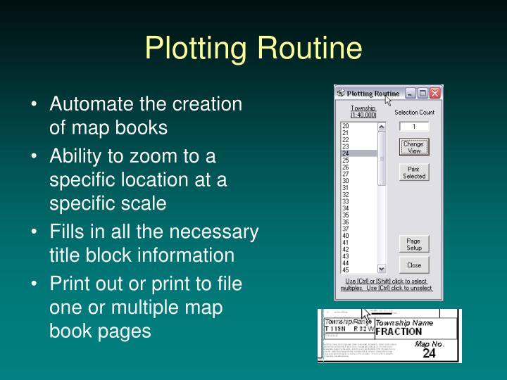 Plotting Routine